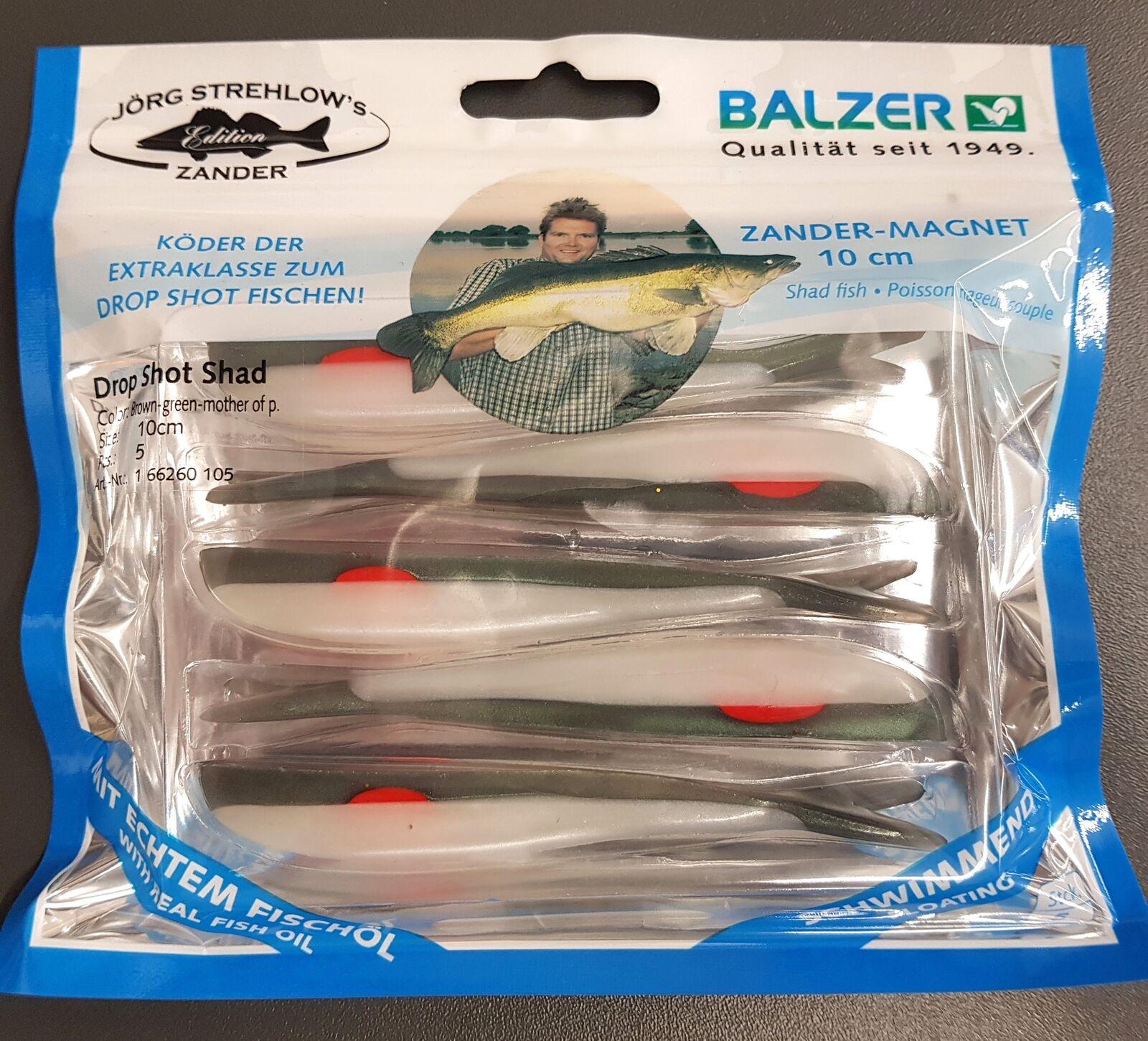Drop Shot Shad Zander Magnet //// 10cm Balzer