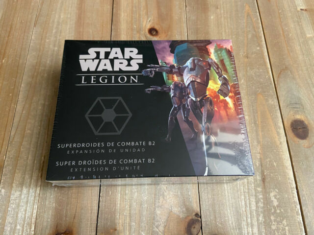 STAR WARS LEGIÓN - Superdroides de Combate B2 - Minis FFG Español Frances
