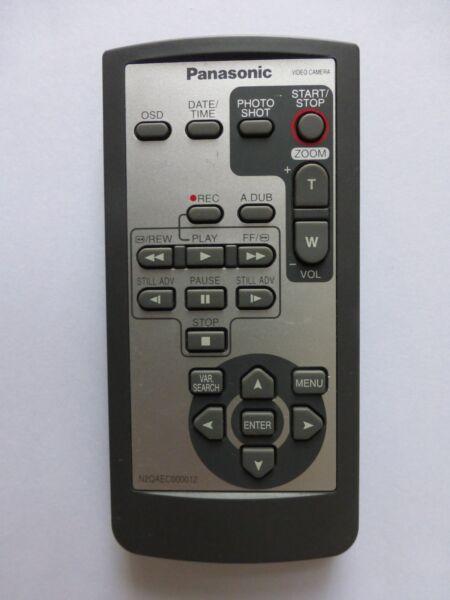 Panasonic Caméscope Distant N 2 Qaec 000012 Agdvc 20 Pvgs 35 Pvgs 65 Pvgs 150 Pvgs 250