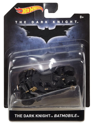 Mattel HotWheels Batman The Dark Knight Christian Bale Batmobile Tumbler