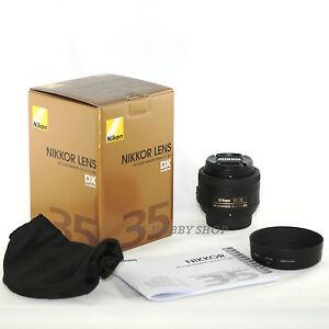 Nikon AF-S DX 35mm f/1.8G nikkor 35 mm 1.8 f1.8 G Objectif
