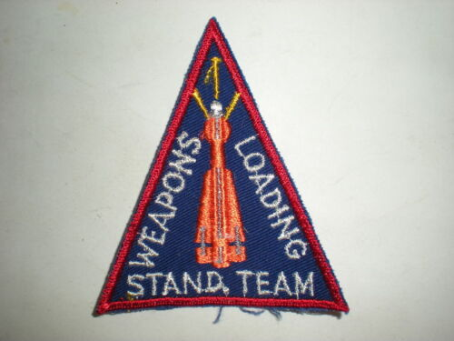 COLOR USAF F-102 WEAPONS STANDARDIZATION TEAM PATCH