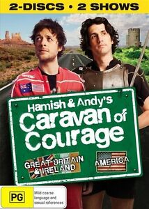 Hamish-And-Andy-039-s-Caravan-Of-Courage-DVD-2010-2-Disc-Set