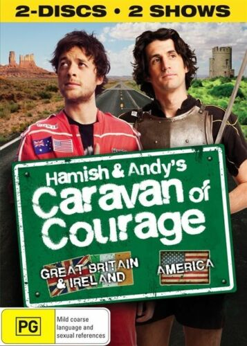 1 of 1 - Hamish And Andy's Caravan Of Courage (DVD, 2010, 2-Disc Set)
