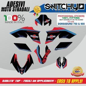 Sticker Set Grafiken Black Camo APRILIA DORSODURO 750 Decals Dekor