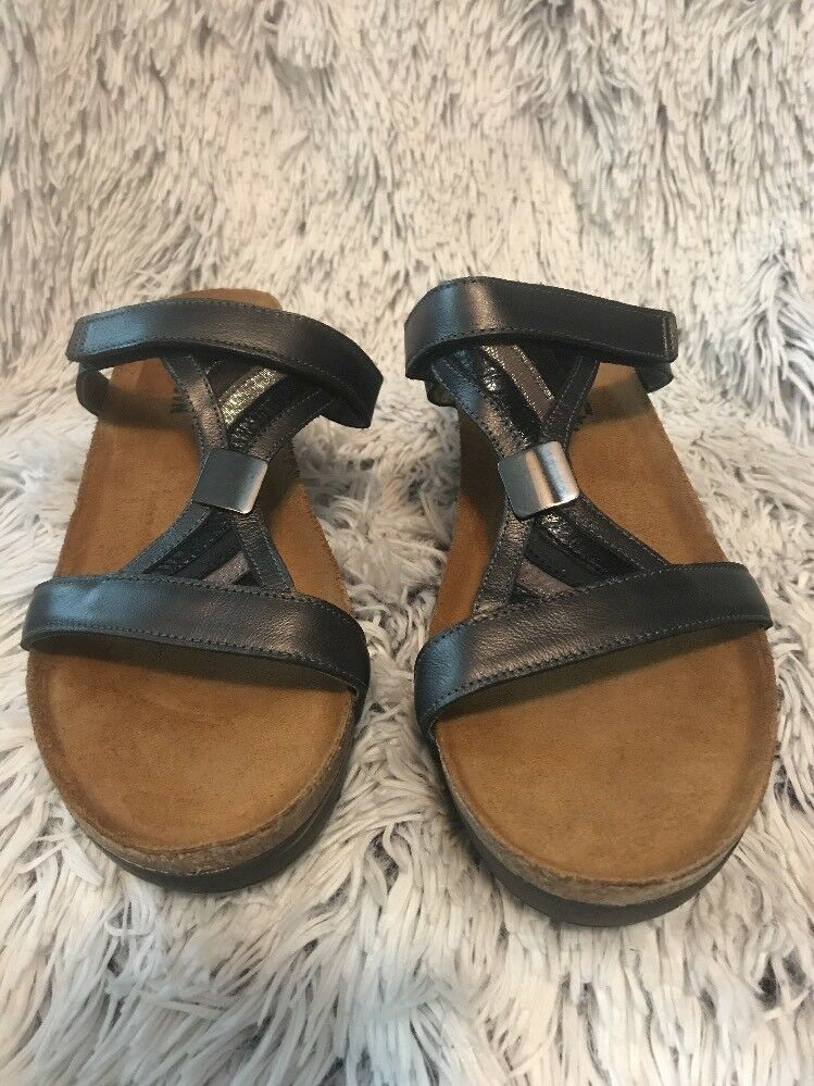 New Naot Footwear Fusion Pump sandals Women's 11 (42) Slip On Open Toe shoes