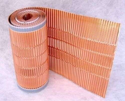 14,98€//m Kupfer-Firstrolle//Gratrolle//Mikroperforation//Dachentmoosung//400mmx5m