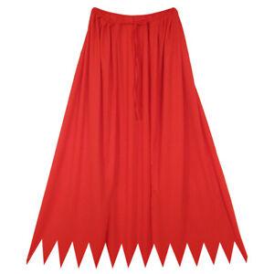 32-034-Red-Cape-HALLOWEEN-SUPERHERO-DEVIL-VAMPIRE-KING-COSTUME-SAWTOOTH-CAPE