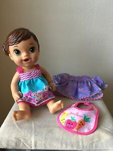 Baby Alive Doll 2014 Teacup Surprises Molded Hair Brunette