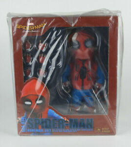 Spider-Man-Homecoming-Egg-Attack-Spider-Man-Homemade-Suit-Beast-Kingdom-PX-NEW