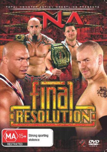 1 of 1 - TNA - Final Resolution  - DVD - NEW Region 4