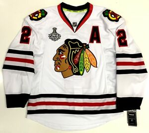 best sneakers 13139 12a75 DUNCAN KEITH CHICAGO BLACKHAWKS 2015 STANLEY CUP REEBOK EDGE ...