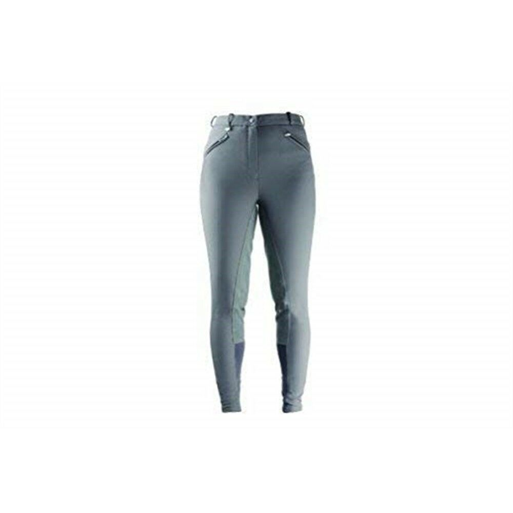 Hyperformance Softshell Winter Ladies Breeches - Grey - 32