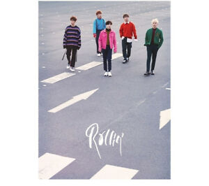 B1A4-Rollin-039-7th-Mini-Album-Gray-Ver-CD-PhotoBook-PhotoCard-KPOP-Sealed