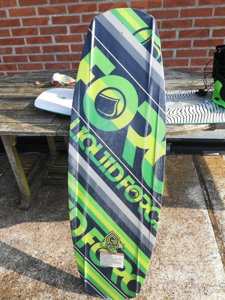 Wakeboard bræt uden bindinger, Liquid force