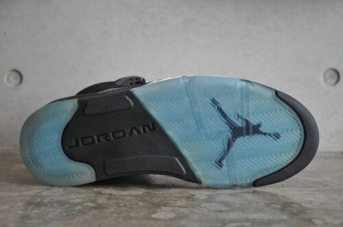 Nike Universitaire Blanc Retro Ls Bleu Noir 2006 5 Air Jordan n0f4qAH