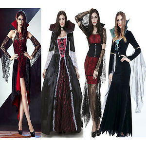 4633303ac31 Image is loading Hot-Sexy-Vampire-Halloween-Costume-Queen-Role-Play-