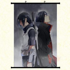Anime-Naruto-Uchiha-Itachi-Painting-Home-Decor-Poster-Wall-Scroll-40x60cm