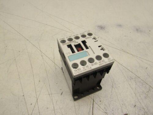 SIEMENS SIRIUS CONTACTOR 3RH1131-1BA40 DC12V COIL 10A 240V XLNT MAKE OFFER!!