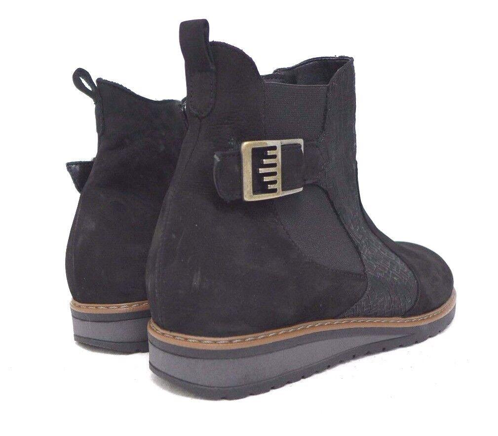 Bosque alfil invierno zapatos negro 37.5 38 cuero auténtico vastas h lose depósito