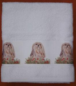 LHASA-APSO-DOG-LARGE-HAND-GUEST-TOWEL-WATERCOLOUR-PRINT-SANDRA-COEN-ARTIST