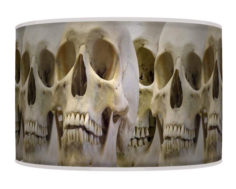 Handmade imprimer tissu abat-jour halloween squelette giclee rétro géométrique géométrique rétro 667 084db3