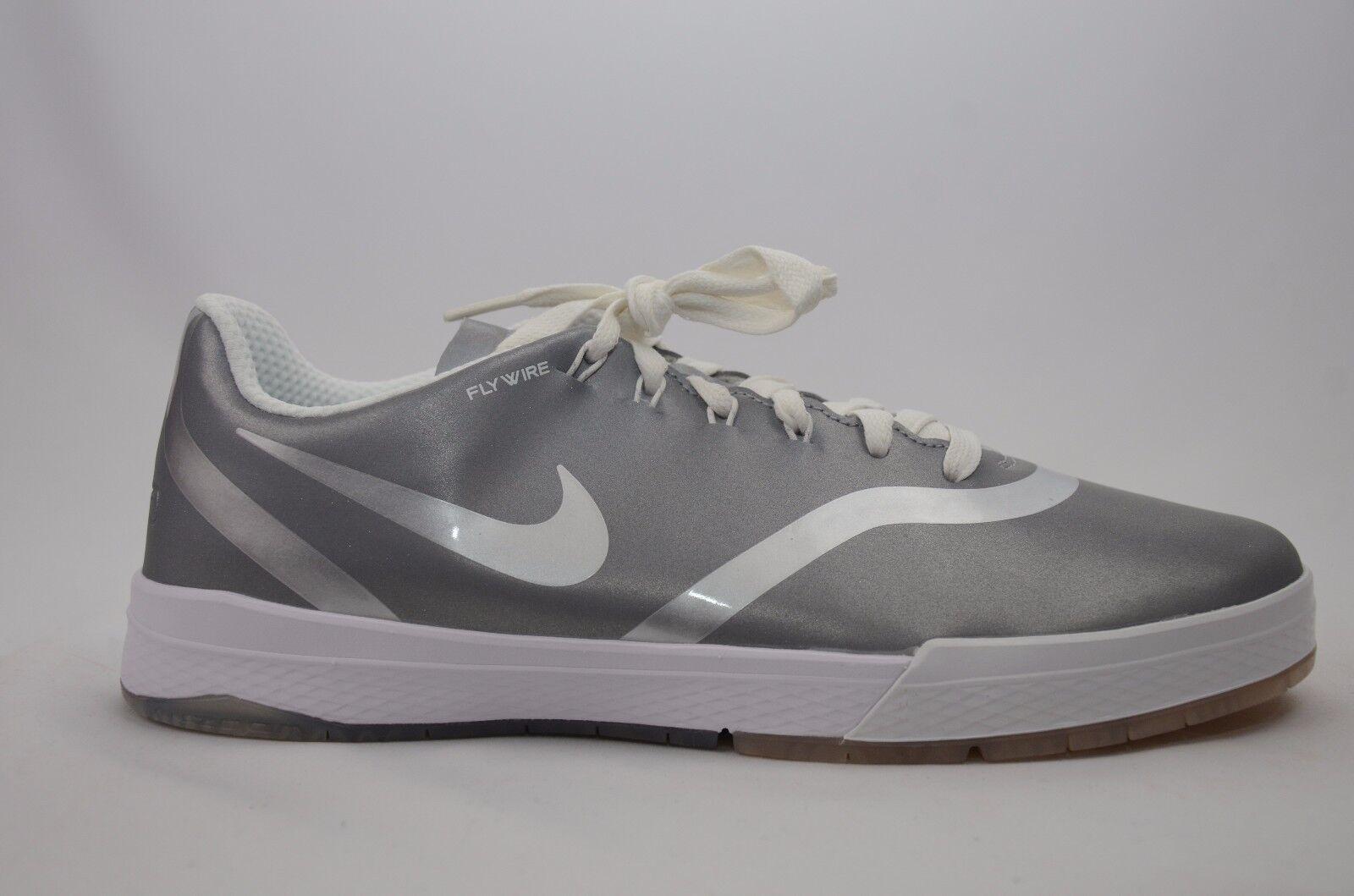ed11fc1bf331 Nike SB Paul Rodriguez 9 Elite Flash Shoes Metallic Silver 833902 ...