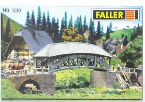 FALLER-539-OO-HO-KIT-OLD-WOODEN-BRIDGE-379-x-83-x-110-mm
