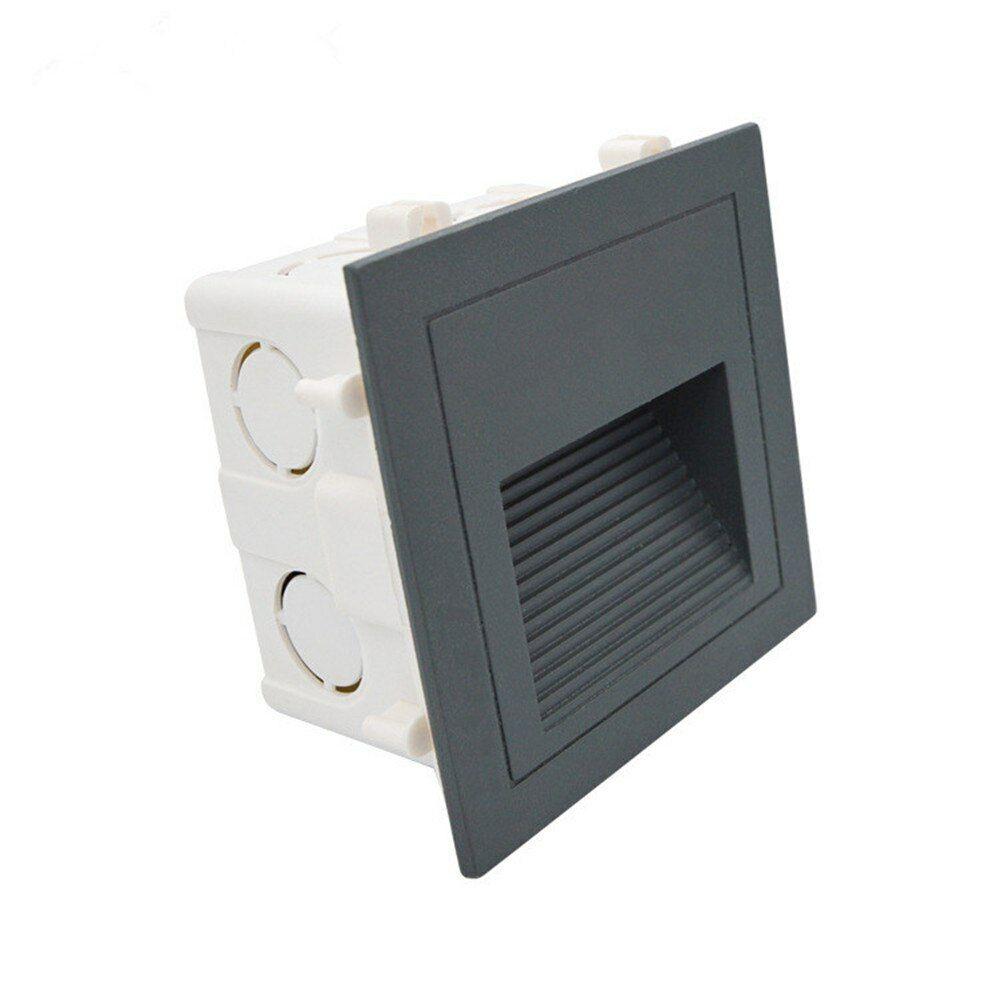 LED Wandeinbauleuchte Stufenleuchte Stufenleuchte Stufenleuchte Treppenlicht Beleuchtung Lampe Alu 230V IP65 3d29e3