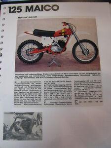Clippings + photos Maico 125 / 250 / 400 / 440 / 450 / 501 (jaren 70 / 80 Duits)