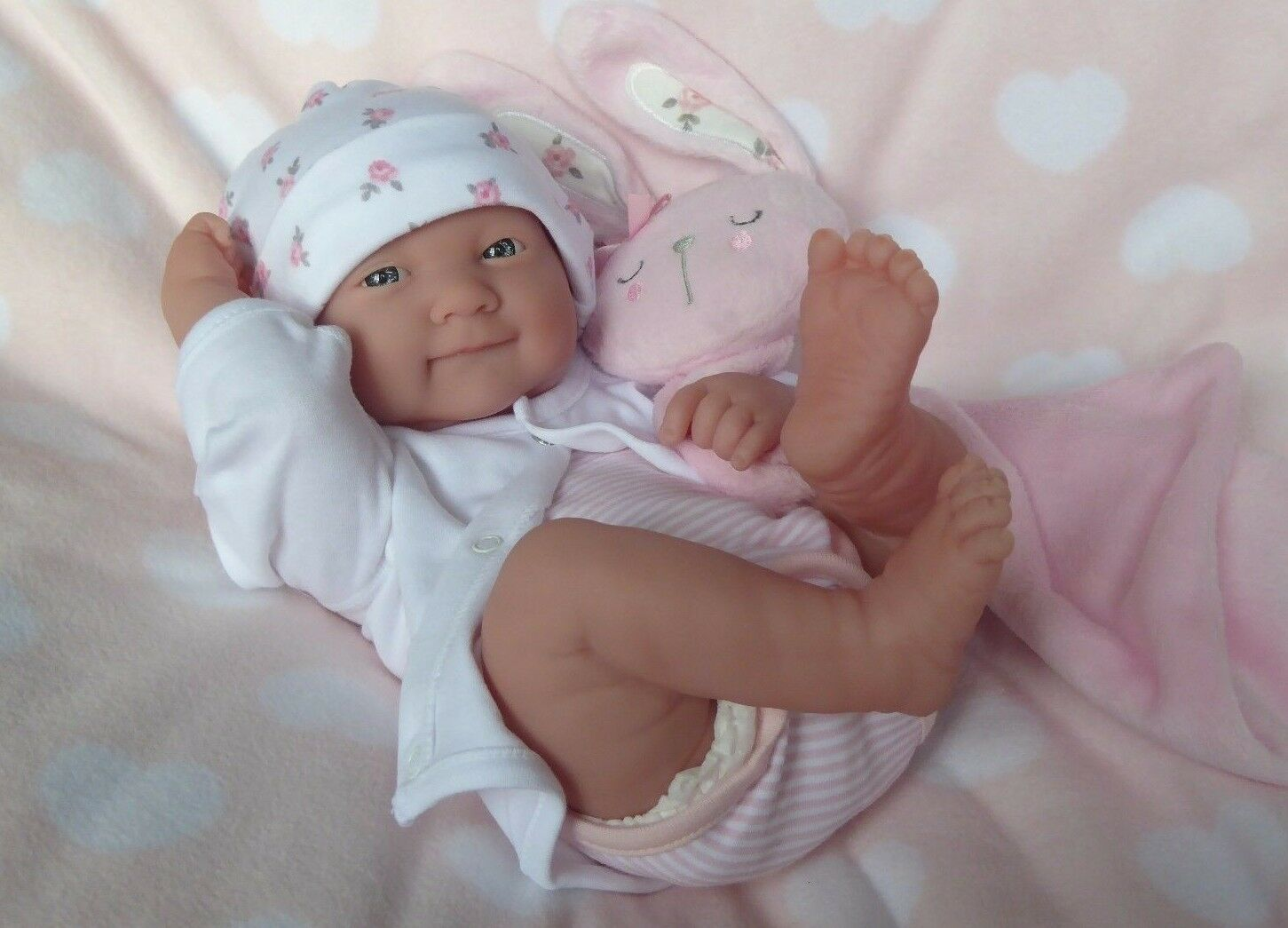 REALISTIC LIFELIKE DOLL   ️  BERENGUER LA NEWBORN REAL BABY GIRL REBORN   PLAY