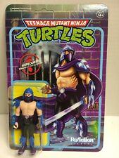 SHREDDER Teenage Mutant Ninja Turtles Tartarughe Ninja Super 7 reazione Action Figure Nuovo