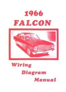ford 1966 falcon wiring diagram manual 66 ebay rh ebay com