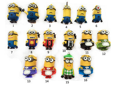 Lovely Minions toy model 8GB 16GB 32GB USB 3.0 Memory Stick Flash pen Drive
