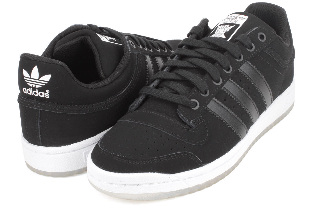 Adidas Originals BLACK ICE PACK Top Ten Low Classic Mens Shoes Low D70346 NEW Comfortable and good-looking