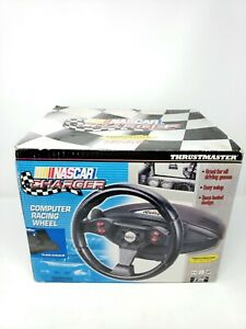 NEW-ThrustMaster-Motorsports-Nascar-Charger-Gaming-Steering-Wheel-Sealed-In-Box