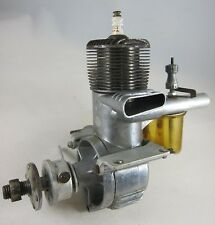 Vintage O&R 60 Ignition Model Airplane Engine with Beam Mounting Accessory