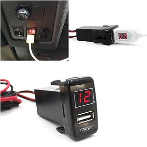 5v 2 1a car usb socket charger interface voltmeter for - First outlet vigo ...