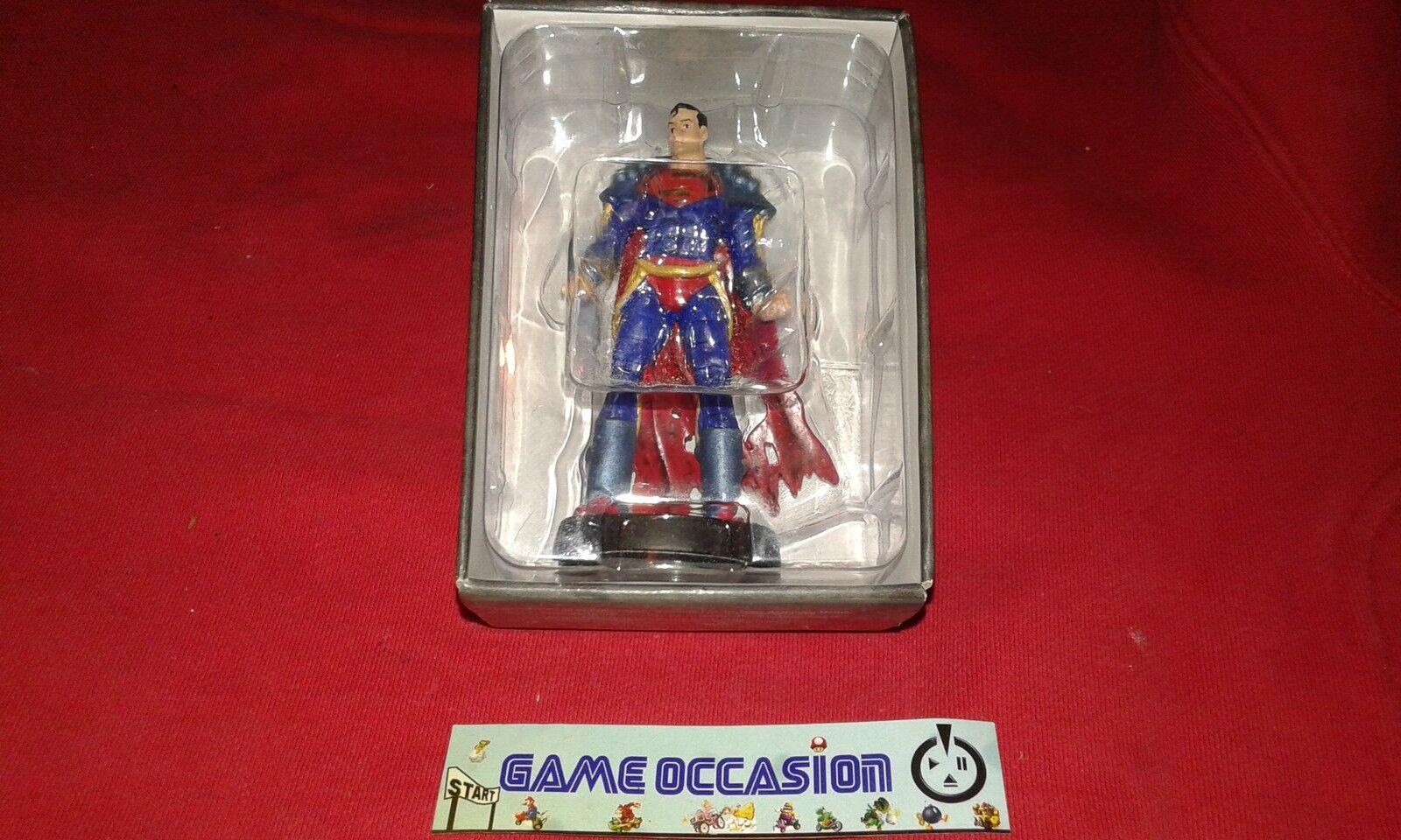 SUPERBOY PRIME FIGURINE NO.32 LEAD MARVEL DC COMICS FIGURE EAGLEMOOS SUPER BOY