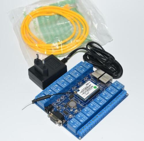 Smart Home Automation cosas de Internet RS232 Puerto RJ45 Wifi Módulo de Relé Tablero