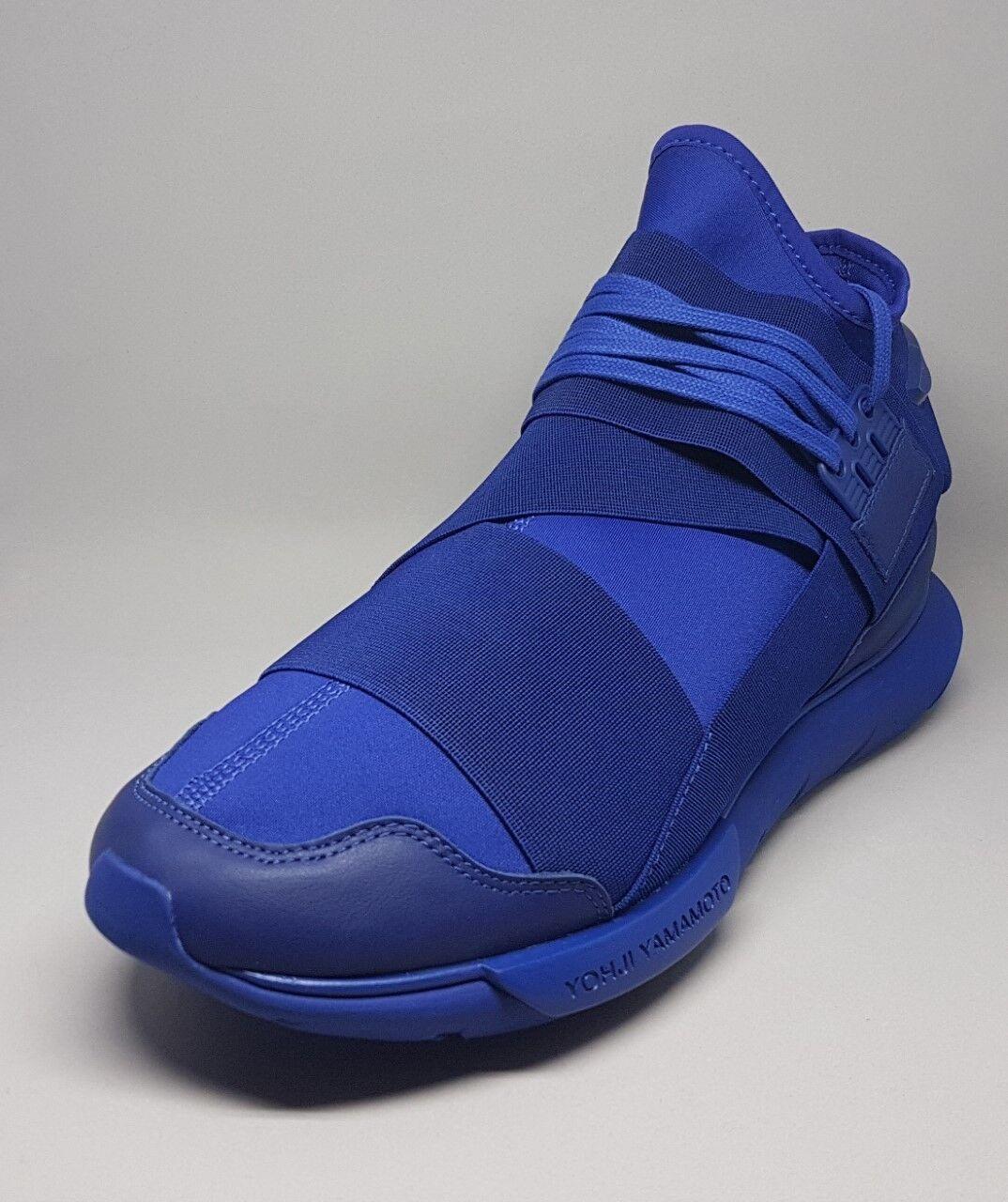 S82124 Adidas Y-3 Qasa High Turnschuhe Blau Größe 10.5US  Men Turnschuhe schuhe