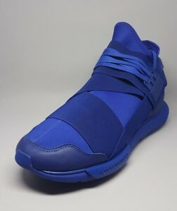S82124 Adidas Y-3 Qasa High Sneakers Blue Size 10.5US Men Sneakers ... 020cb3ab0