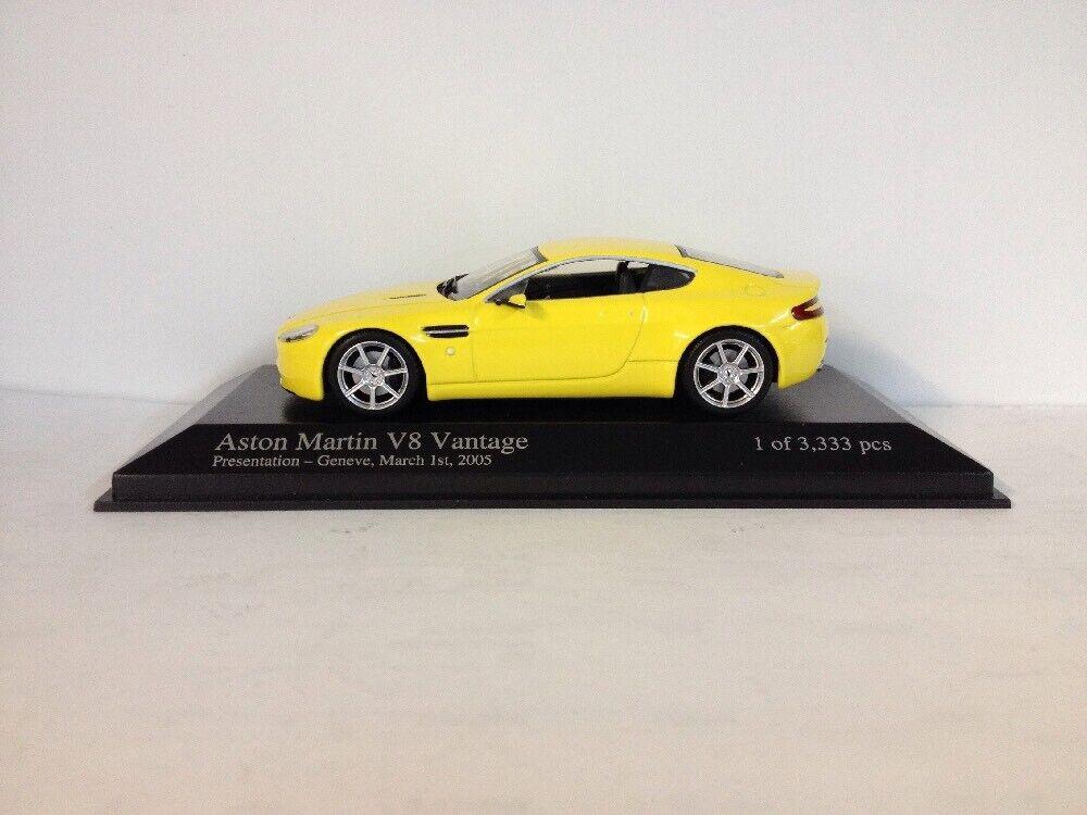 RARE. Minichamp Aston Martin V8 Vantage. Présentation GENEVE. 1 43. 400 137421