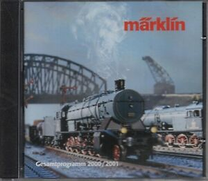 1-x-CD-ROM-MARKLIN-Gesamtprogramm-2001-2002-H0-Z-Spur-1-Modellbahn-15020