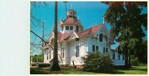 Old-Chrome-Postcard-I257-The-Coach-Barn-Los-Angeles-County-Arboretum-Arcadia-CA