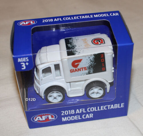 Greater Western Sydney GWS Giants 2018 AFL Official Collectable Mini Truck Model