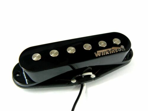 Made in Korea Wilkinson MWHSN I high output Single Coil Neck-Position schwarz