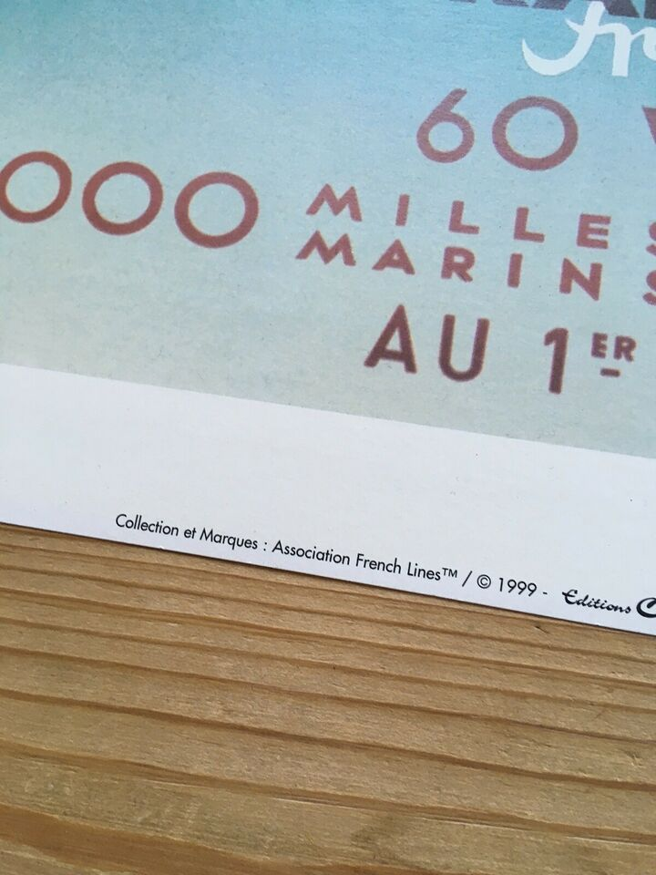 Plakat, motiv: Normandie, b: 50 h: 70