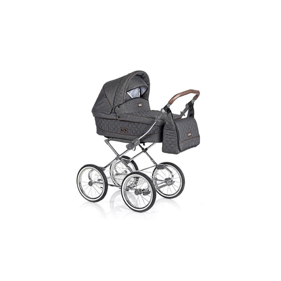 Barnevogn ROAN SARA barnevogn 2 i 1 - grå