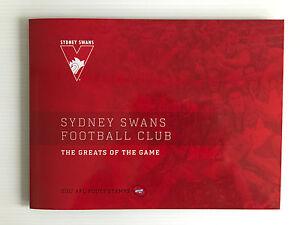 Brand-New-Mint-Condition-Sydney-Swans-AFL-Collector-2017-Souvenir-Stamp-Folder
